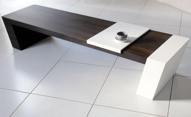 Pouty Design Collection TWIZT Table Visàvis - Table de lit design
